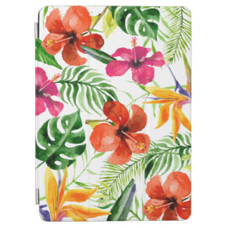Colorful Watercolor Tropical Floral iPad Air Case iPad Air Cover