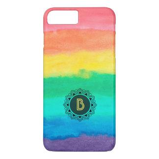 Colorful Watercolors Brush Strokes iPhone 8 Plus/7 Plus Case