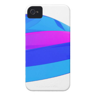 Colorful wave iPhone 4 case