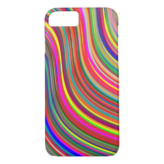 Colorful Wavy iPhone 8/7 Case