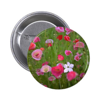 Colorful Weeds 6 Cm Round Badge