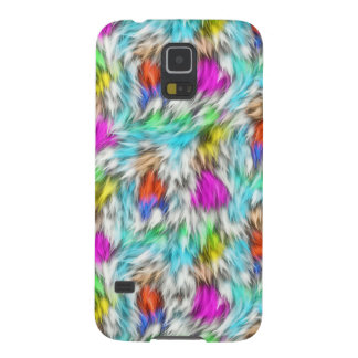 Colorful White Leopard Fur Pattern Galaxy S5 Case