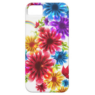 Colorful Wild Flower iphone5 Case Design iPhone 5/5S Cases