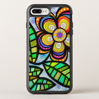 Colorful Wildflower Illustration OtterBox Symmetry iPhone 8 Plus/7 Plus Case