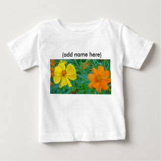 Colorful Wildflowers Baby T-Shirt