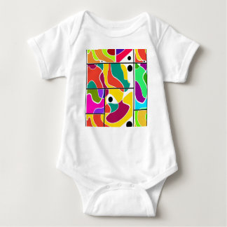 Colorful windows baby bodysuit