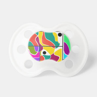 Colorful windows baby pacifier