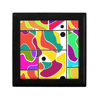 Colorful windows gift box