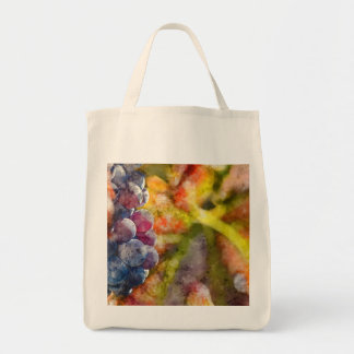 Colorful Wine Grapes on the Vine Tote Bag