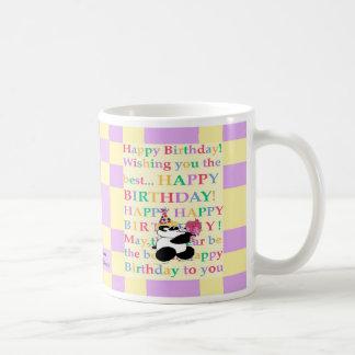Colorful wishes to a 'be-hue-tiful' individual coffee mug