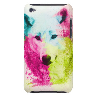 Colorful Wolf  Design iPod Touch Case Mate Case