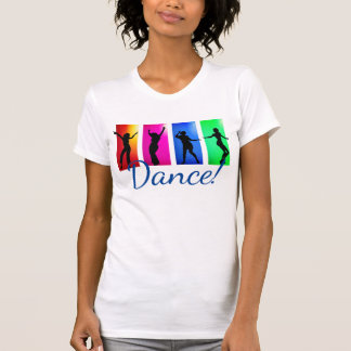 Colorful Women Dancing T-Shirt