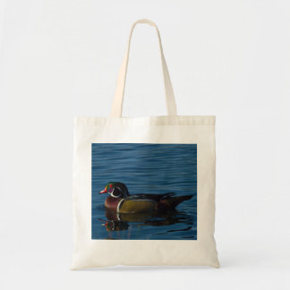 Colorful Wood Duck tote bag
