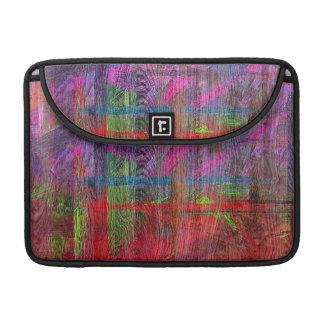 Colorful Wood Grain #2 Sleeves For MacBooks