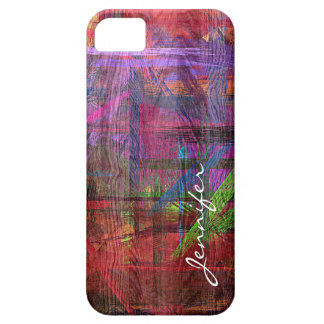 Colorful Wood Grain iPhone 5 Covers