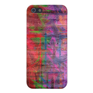 Colorful Wood Grain Texture #2 iPhone 5 Cover