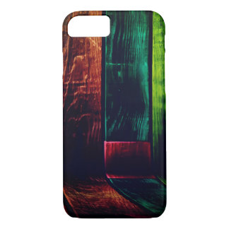 Colorful Wood Grain Wall iPhone 8/7 Case