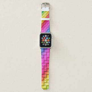 Colorful Woven Pattern Apple Watch Band
