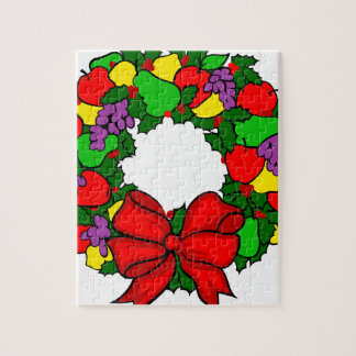 Colorful Wreath Jigsaw Puzzle