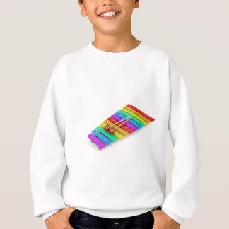 Colorful xylophone sweatshirt