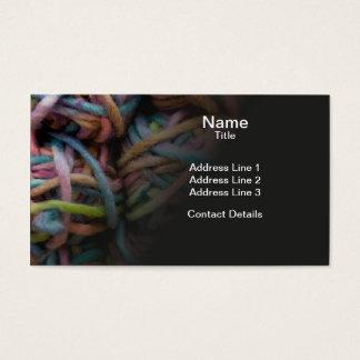 Colorful Yarn Business Card
