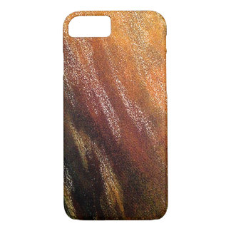 Colorful Yellow Gold Earthy Textured Phone Case