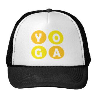 Colorful Yoga Lettering Cap