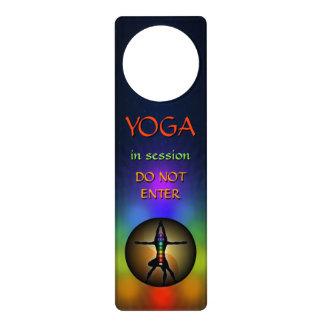 Colorful Yoga Seven Chakras Yin Yang Door Hangers