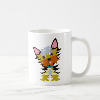 Colorful Yorkshire Cartoon Coffee Mug