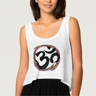 Colorful Zen Buddhist Ohm Singlet