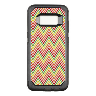Colorful Zigzag Chevron Pattern OtterBox Commuter Samsung Galaxy S8 Case
