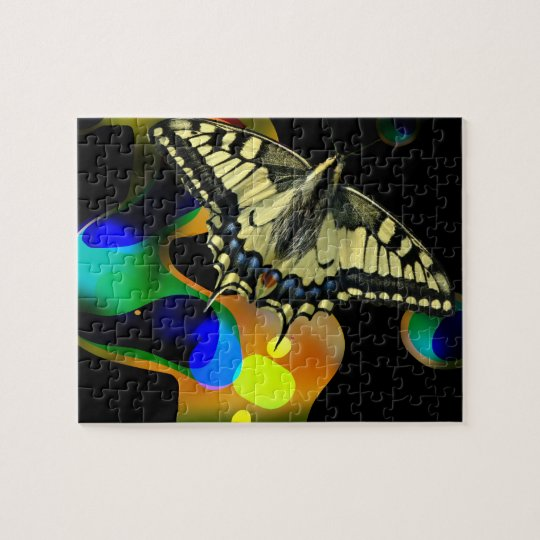 Colorfull Butterfly Puzzle