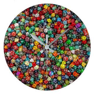 Colorfull Dice Clock