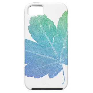 colorfull skeleton Leaf blue iPhone 5 Covers