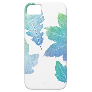 colorfull skeleton Leafs blue iPhone 5 Cover
