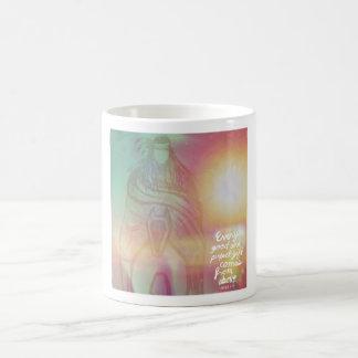 Colorfully inspirational mug