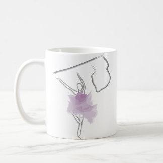 Colorguard Dancer Flag Toss Coffee Mug