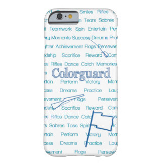 Colorguard Flag Rifle Sabre Barely There iPhone 6 Case