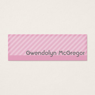 Colori Pastello Appointment Mini Business Card