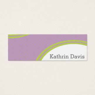 Colori Pastello Calling Mini Business Card