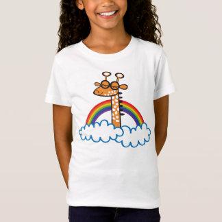 Colorida Jirafa. Giraffe. Arcoiris, rainbow. T-Shirt