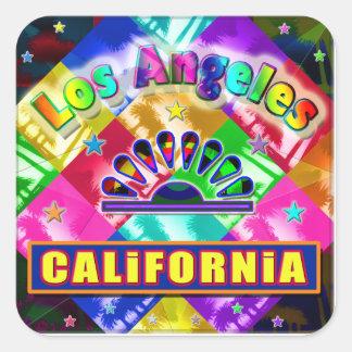 """""""Coloring Los Angeles 4"""" Sticker"""