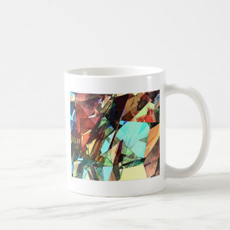 Coloring Shapes With Texture Coffee Mug