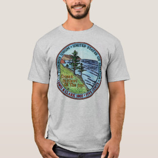 Colorized Lewis and Clark Expedition Nickel Tshirt