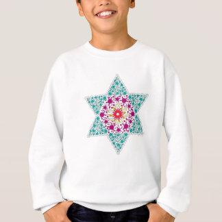 Colorized Star of David Seal design in Jerusalem Sweatshirt