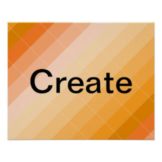 Colorplay Gold Artist Inspiration Poster CREATE