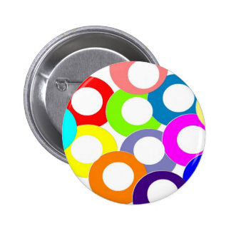 colors 6 cm round badge