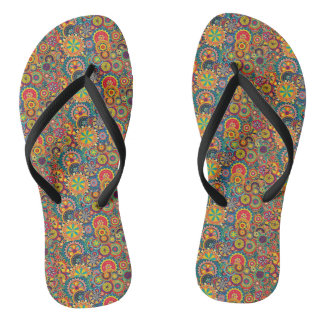 COLORS AND CIRCLES SLEEPERS THONGS