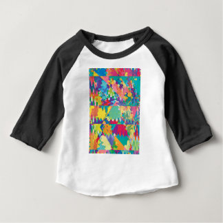 Colors and Curves Baby T-Shirt
