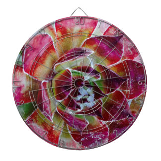 Colors and forms of nature dartboard